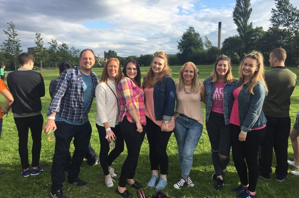 Richard Holmes, Samantha Davidson, Antonia Edwards, Kasey Hartney, Laura Nee, Camilla Bailey, Horizon Works, Digital Union Summer Meet