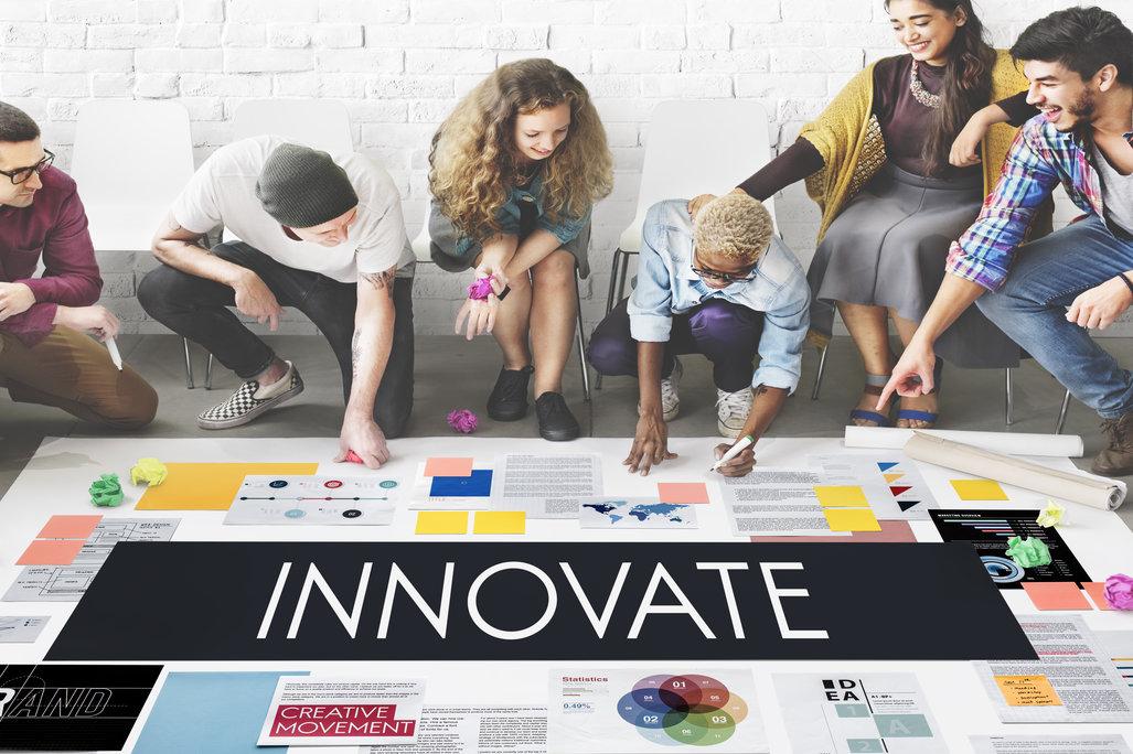 innovate, creative, team