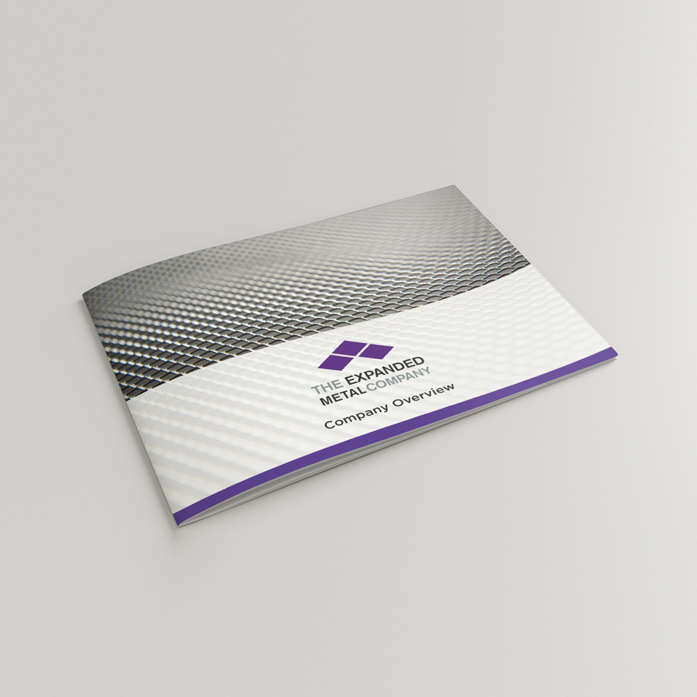 brochure, expanded metal company