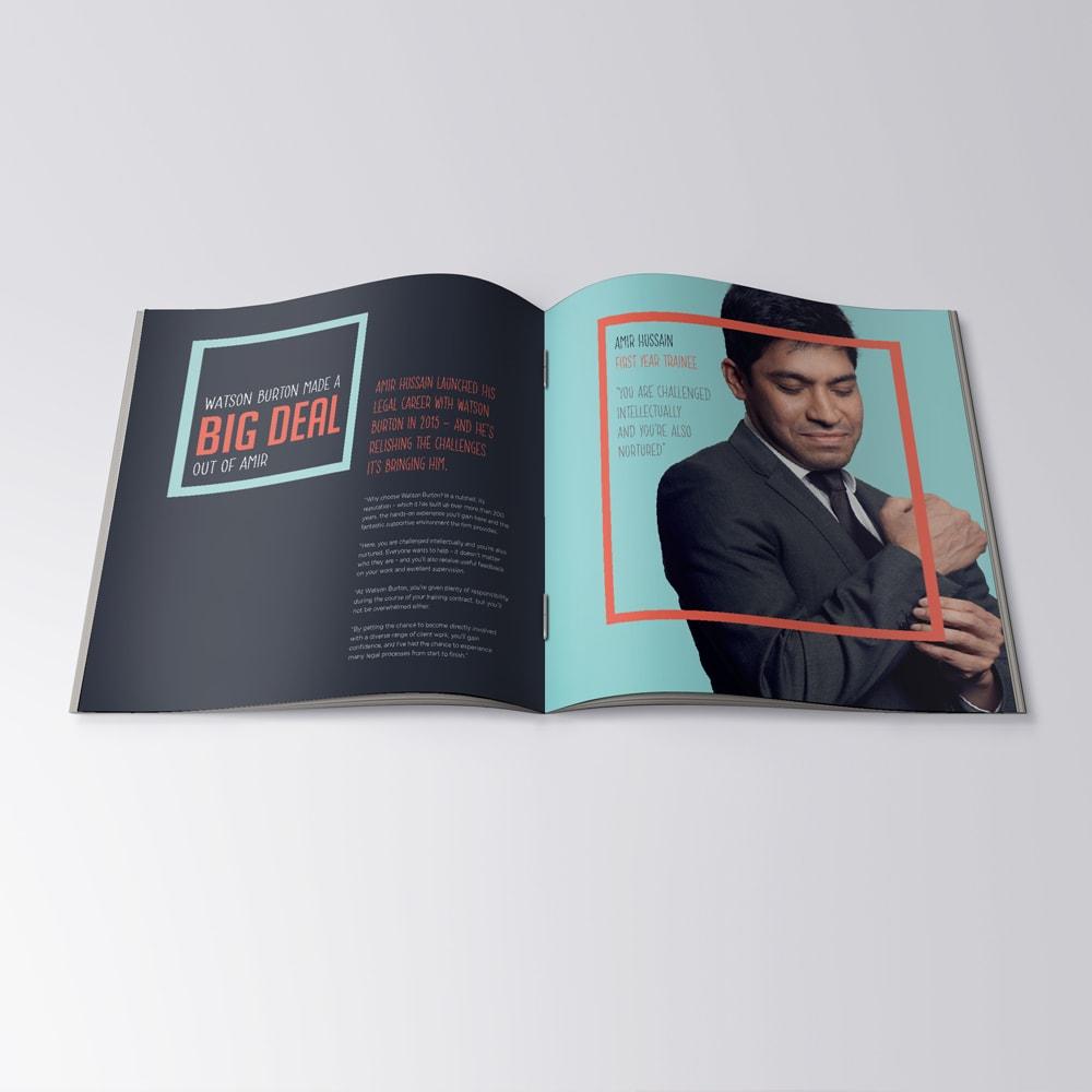 editorial. brochure