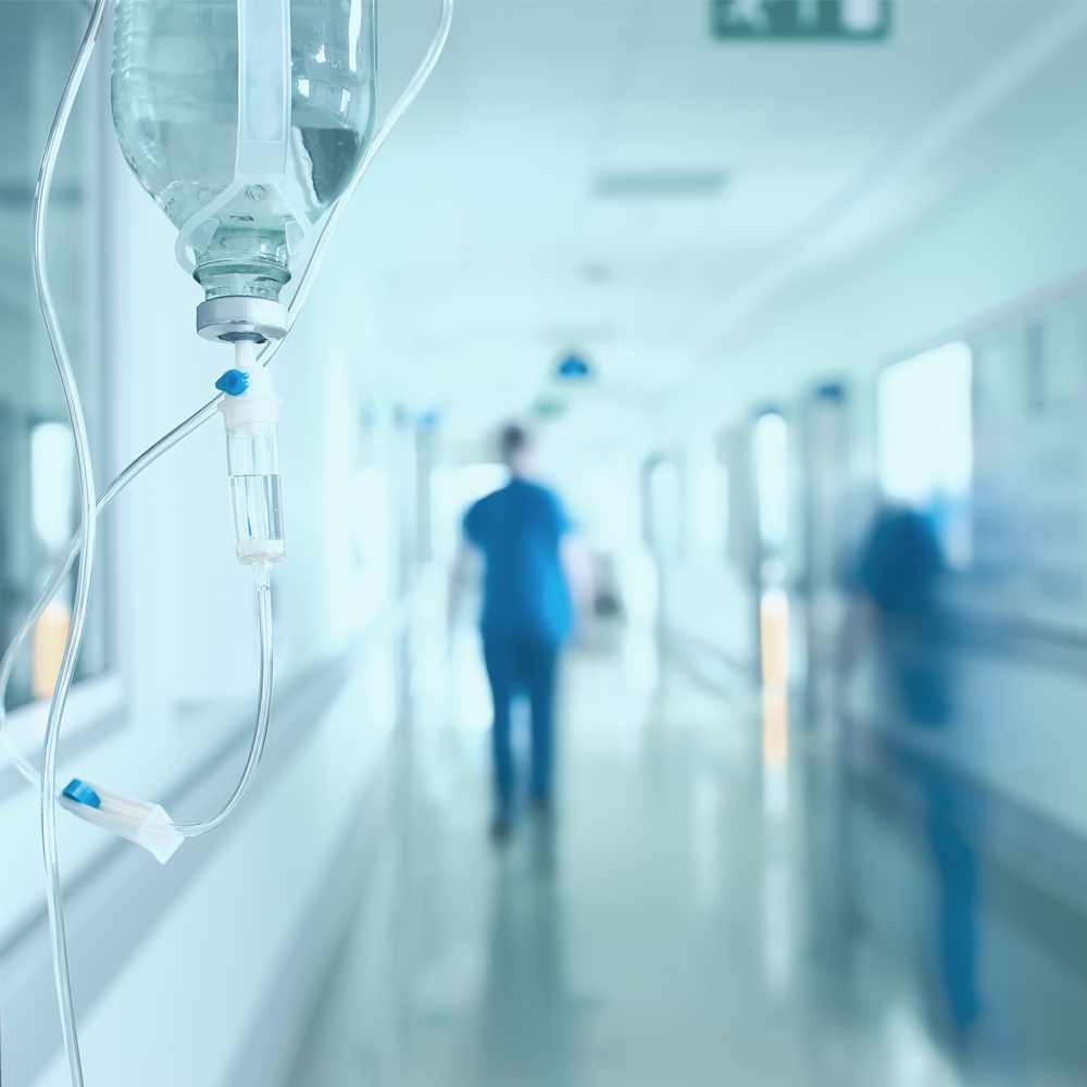 corridor, healthcare, hospital