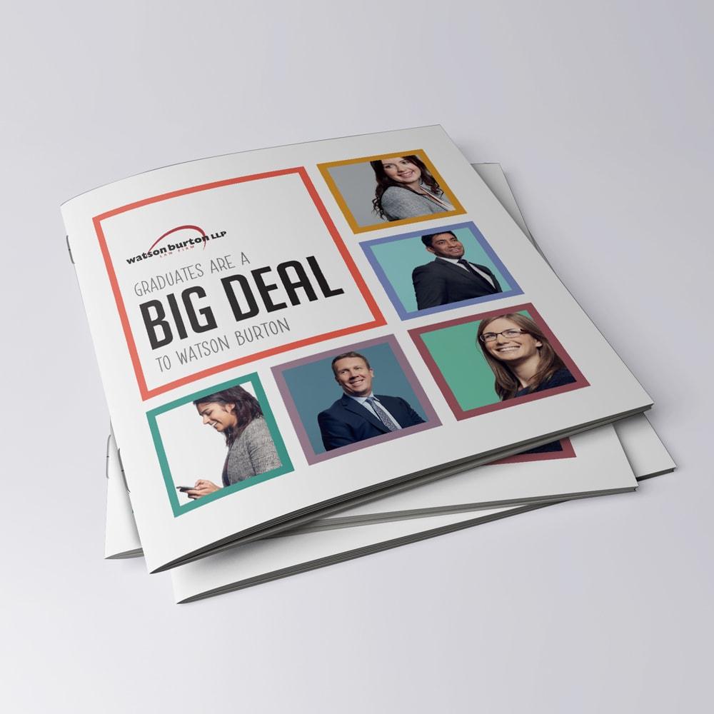 editorial brochure, design