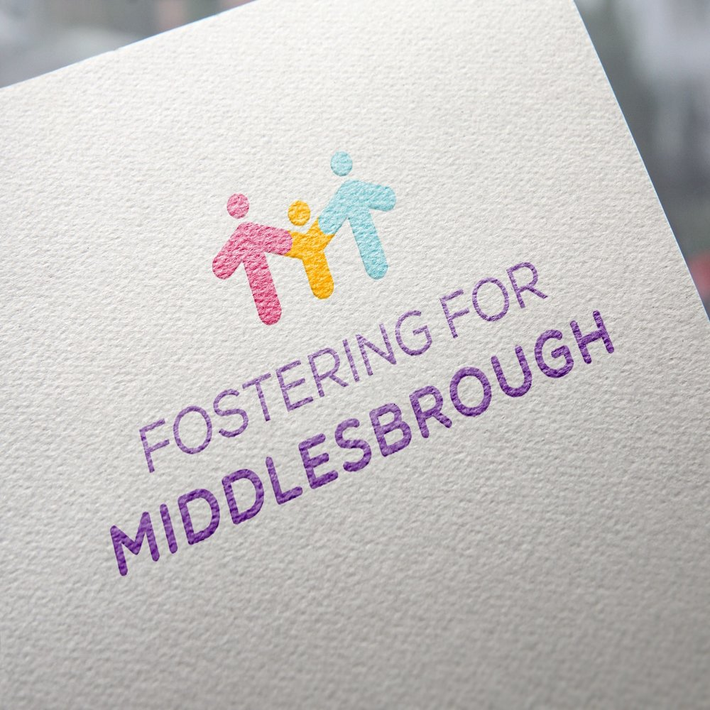 fostering for middlesbrough logo