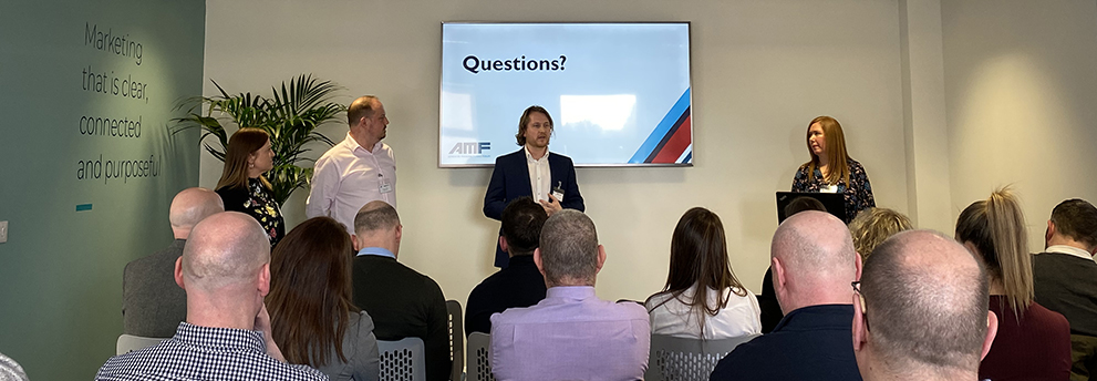 Closing questions at the AMF Marketing Club